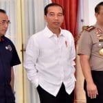 Jokowi Perintahkan Kapolri Dan Wakapolri Tindak Pengganggu Perjalanan Armada  Logistik